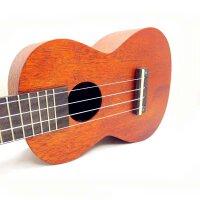 支持货到付款 Ashtons  23寸 简单素色 尤克里里 C型 尤克里里 ukulele 乌克丽丽 C型 尤克里里 合板 奥古纳面板 简洁大方 意大利AQUILA琴弦 (送:背包+拨片+教材+套弦)UKE240MH