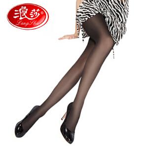 浪莎丝袜子 女士超薄包芯丝加裆连裤袜 夏季打底丝袜 6条