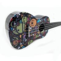 支持货到付款 Vorson  ukulele 彩印  可爱系列 尤克里里 标准弦长 乌克丽丽 小四弦吉他专业音准 夏威夷小吉他  送 ( 尤克里里琴套 + 3个拨片 + 教程一本)AUP-24-24