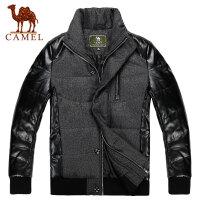 CAMEL骆驼男士棉衣 耐磨防风保暖立领拉链时尚男装新款 3F45005
