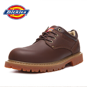 Dickies休闲鞋男鞋新款英伦休闲鞋男士工装鞋163M50LXS32