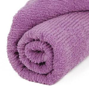 【货到付款】优雅100  暗条浴巾 多色选70x140cm 100%棉 浴室用品