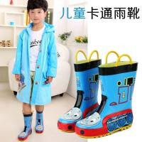 儿童雨鞋雨靴男童托马斯立体卡通雨鞋橡胶雨鞋水鞋