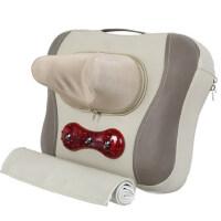 颈椎按摩器颈部腰部肩部按摩仪劲椎腰椎按摩枕头电动家用