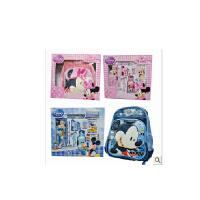 专柜迪士尼礼盒小学生米奇儿童书包男女文具套装学习用品DM0900