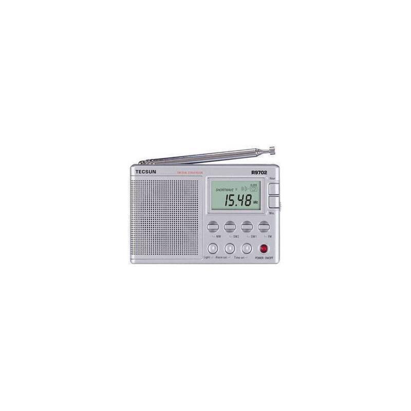 德生r-9702 德生收音机r9702 数显二次变频