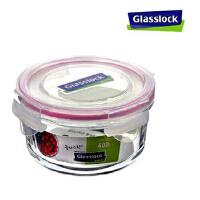GlassLock/三光云彩  韩国进口钢化钢化玻璃乐扣微波保鲜盒/碗饭盒RP525 400ml保鲜碗   ED3104