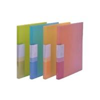 金得利文具 型号:AF1021 A4春之韵透明长压夹+板夹 价格/个透明文件夹