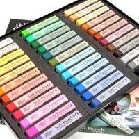 韩国进口MUNGYO盟友 36色套装 色粉笔 粉彩棒 粉彩笔 粉画笔