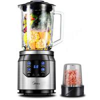 美的(Midea)破壁机玻璃材质家用婴儿辅食果汁搅拌研磨榨汁机BL80Y21(破壁料理机)