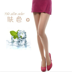 浪莎丝袜子 女士超薄款丝袜包芯丝冰冻凉感加档连裤袜子 10条