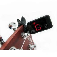 支持货到付款 阿诺玛 十二平均律 吉他 电贝司 木吉他 民谣吉他 贝司 尤克里里 小吉他 调音器 调音表 定音器 AT-100 ( 色可选 小巧 便携 性价比高 )