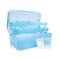 医药工具箱、化妆工具箱、化妆箱、药箱、大号透明工具箱