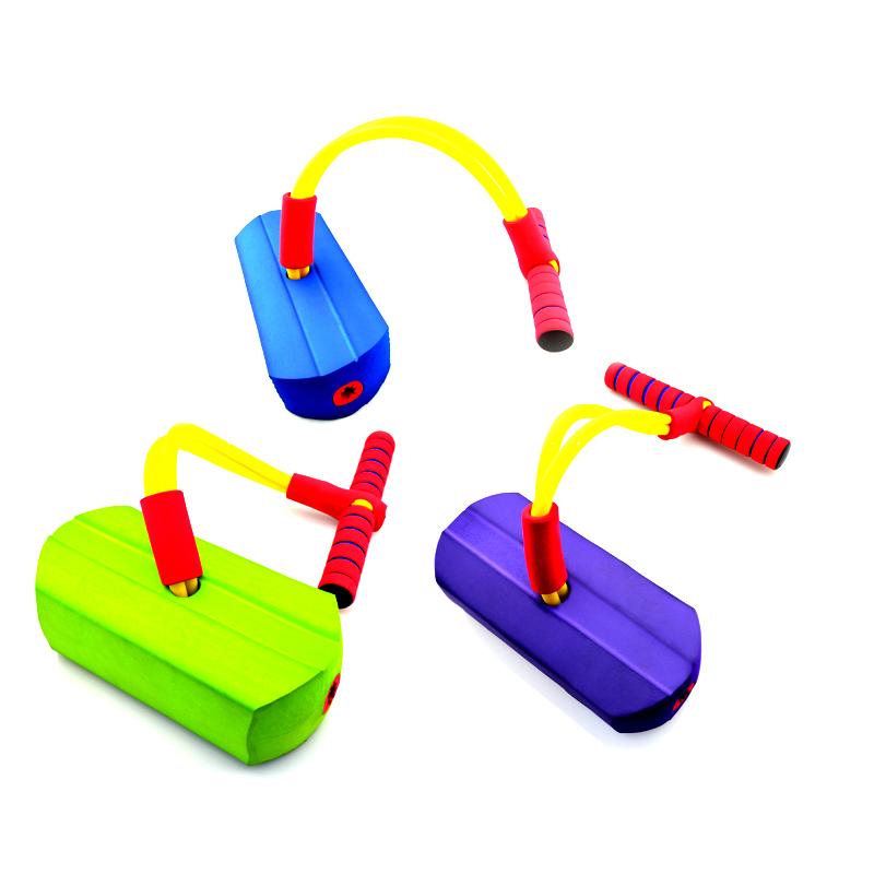 顽童无忧儿童青蛙跳有声弹跳鞋幼儿园教玩具运动跳跳鞋 运动玩具亲子