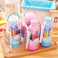 创意文具12色魔法喷喷笔套装儿童 文具水彩笔  儿童彩色笔 画笔