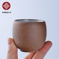 粗陶龙蛋杯  碗茶杯功夫茶具茶壶简约盖碗陶瓷茶杯家用