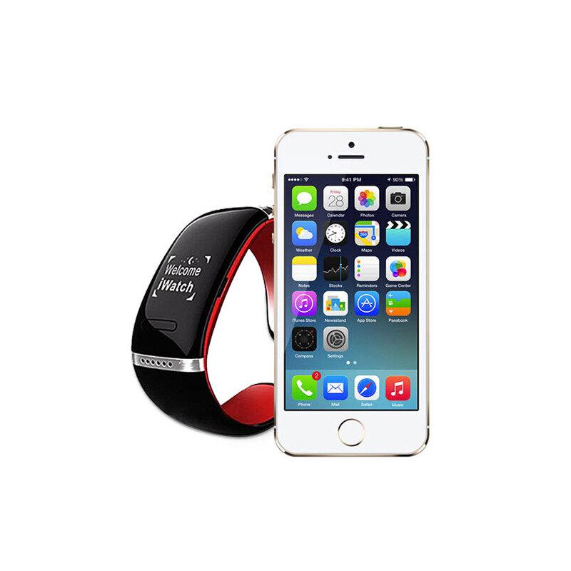 b1智手机】触摸屏蓝牙壁纸/智苹果手表iP安卓手镯手表app哪个好图片