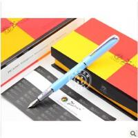 毕加索PS-916马拉加淡蓝色铱金笔/墨水笔/钢笔 礼品笔