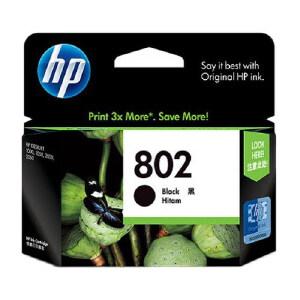 【当当自营】 HP 惠普 CH563ZZ 802 黑色墨盒(适用Deskjet1050 2050 1000 2000)正品耗材