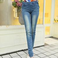 2014春夏新款女装 修身弹力休闲紧身女士牛仔裤小脚裤