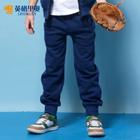 英格里奥童装秋季新款儿童裤子男童运动长裤中大童韩版LLB406