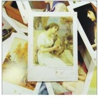日照鑫 bentoy油画明信片卡片 复古图案丰富各异 精致美观 32张