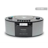 cd机 便携 熊猫CD机CD900录音机磁带收录机胎教机 u盘 DVD机 USB磁带机播放机 DVD VCD CD MP3 WMA MP4多功能播放