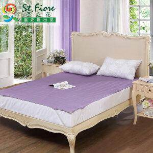 [当当自营]富安娜床垫磨毛印花保护垫 素雅亲肤保护床垫 紫色 120*200