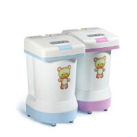 艾洁冠 全自动迷你小洗衣机 脱水 消毒 洗内衣母婴儿童宝宝袜子尿片布 包邮