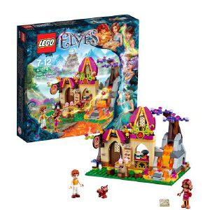 [当当自营]LEGO 乐高 Elves精灵系列 火之精灵阿莎莉和魔幻烘焙屋 积木拼插儿童益智玩具 41074