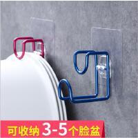 创意居家卫浴室必备六爪挂钩 吸盘式强力无痕收纳整理钩单个